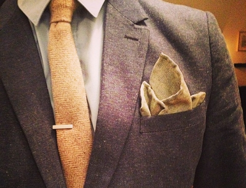Instagram – #ootd with #knittie and @thetiebar #tiebar and #hm #blazer