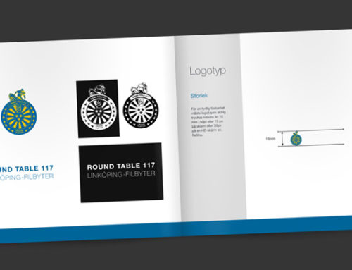 Logotyp och Brand Book Round Table 117