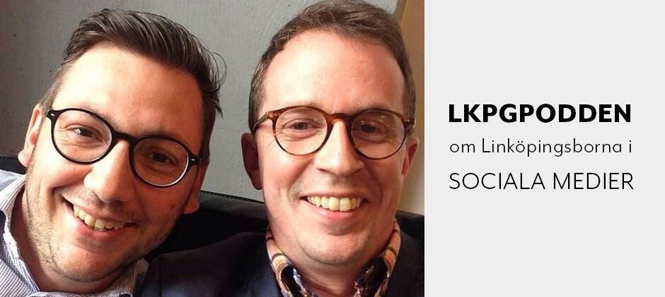Linköpingspodden pratar sociala medier